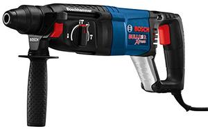 Bosch 11255VSR Bulldog Xtreme 8 Amp 1 Inch Corded Variable Speed Sds Plus ConcreteMasonry Rotary Hammer Power Drill with Carrying Case, Blue
