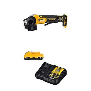 DEWALT 20V MAX XR Brushless Cut OffGrinder Tool with 3Ah Battery & Charger Kit (DCG413B & DCB230C)
