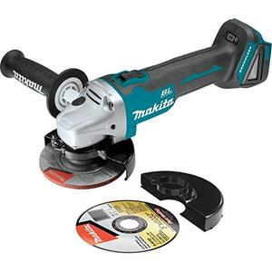 "Makita XAG04Z 18V LXT Lithium Ion Brushless Cordless 4 12"" 5 Cut OffAngle Grinder, Tool Only"